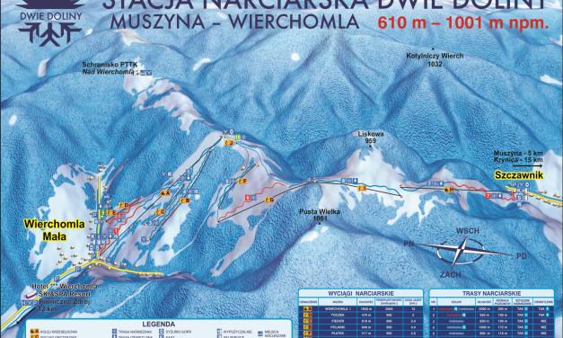 Stacja Narciarska Dwie Doliny: Muszyna-Wierchomla